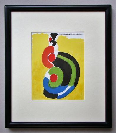 Lithographie Delaunay - Composition pour XXe Siècle