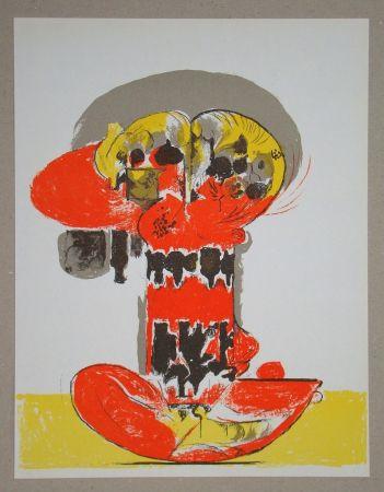 Lithographie Sutherland - Composition pour XXe Siècle