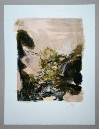 Lithographie Zao - Composition pour XXe Siècle