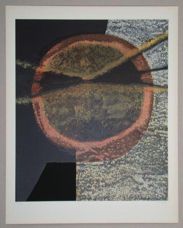 Sérigraphie Piaubert - Composition V.-1964