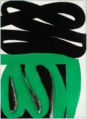 Eau-Forte Et Aquatinte Clement - Composition verte