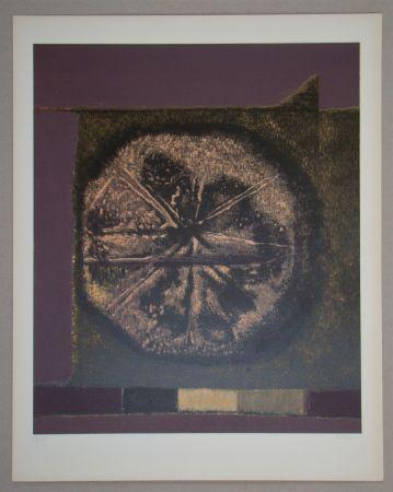 Sérigraphie Piaubert - Composition VII.-1964