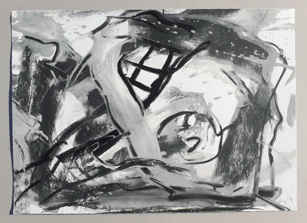 Sérigraphie Vedova - Composizione