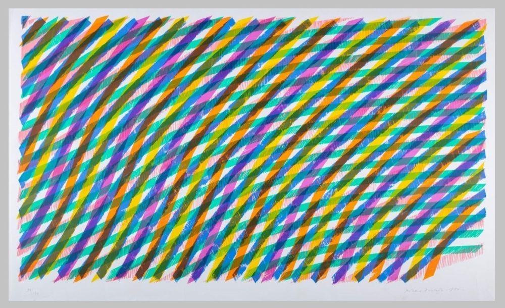 Lithographie Dorazio - Composizione