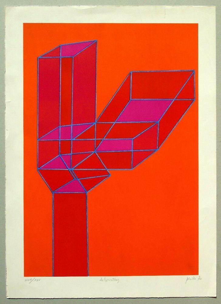 Lithographie Perilli - Composizione