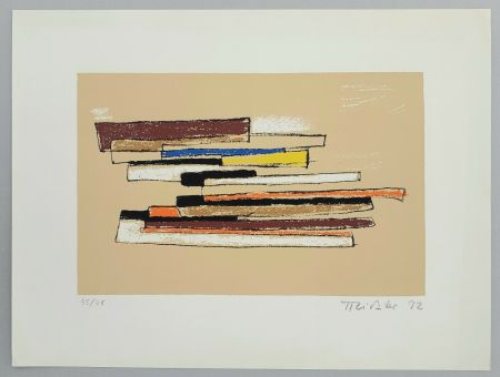 Sérigraphie Richter - Composizione