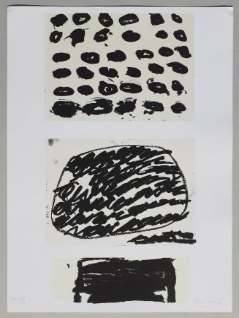 Lithographie Kounellis - Composizione
