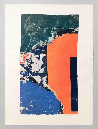 Lithographie Rotella - Composizione