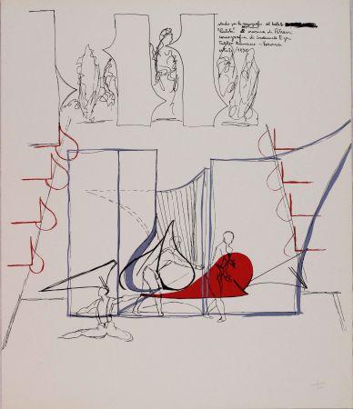 Lithographie Bonalumi - Composizione