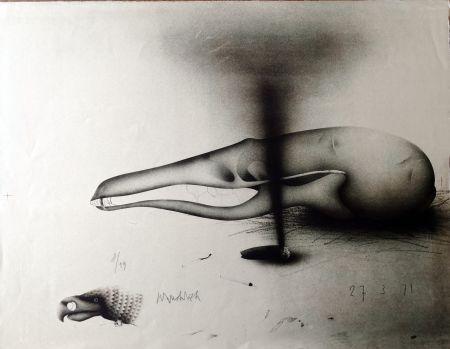 Lithographie Wunderlich - Composizione
