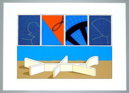 Lithographie Del Pezzo - Composizione