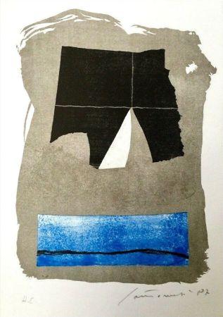 Lithographie Santomaso - Composizione