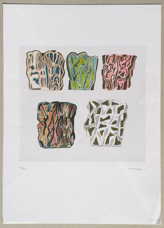 Lithographie Consagra - Composizione