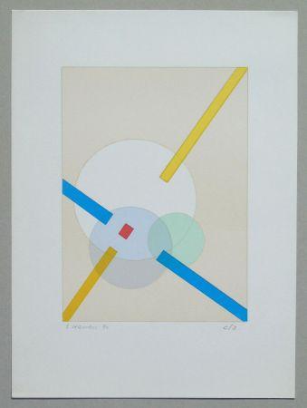 Lithographie Veronesi - Composizione