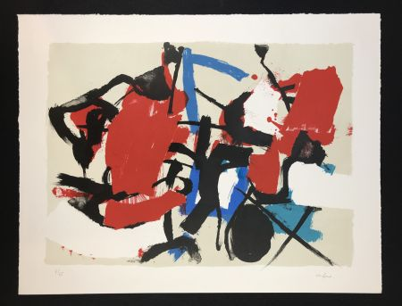 Lithographie Afro - Composizione