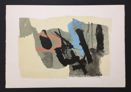 Lithographie Afro - Composizione - Le due ragazze, 1967