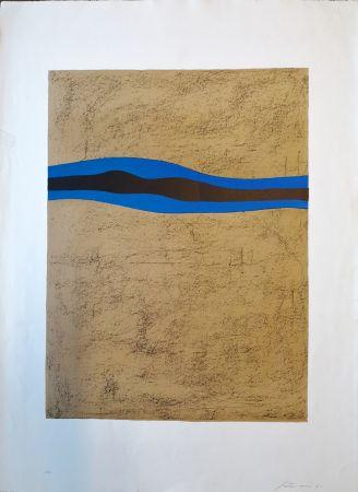 Lithographie Santomaso - Composizione 1