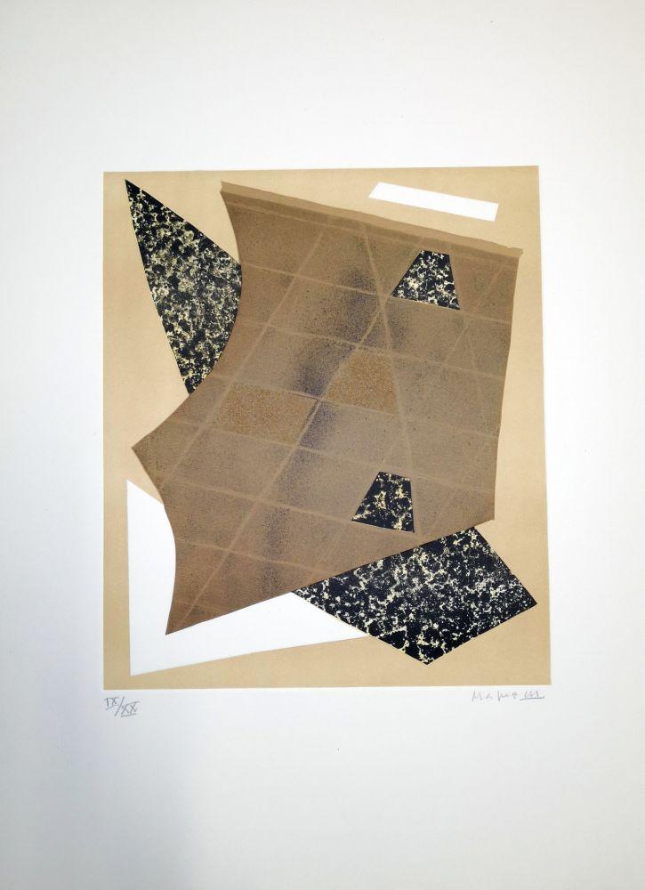 Lithographie Magnelli - Composizione 3