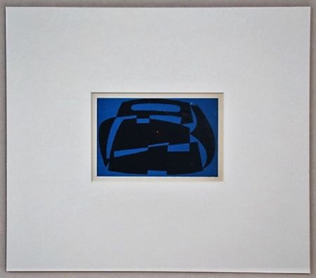 Gravure Sur Bois Reggiani - Composizione non figurativo