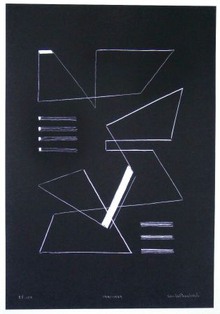 Sérigraphie Badiali - Composizione (tavola 10)