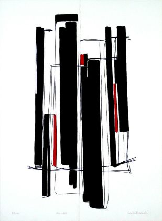 Sérigraphie Badiali - Composizione (tavola 8)