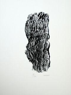 Lithographie Michaux - Compostion 127