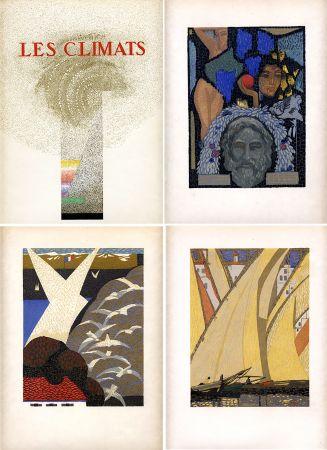 Livre Illustré Schmied - Comtesse de Noailles : LES CLIMATS. Société du Livre Contemporain (1924).