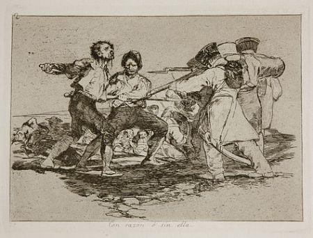 Gravure Goya - Con razón o sin ella