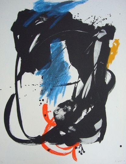 Lithographie Miotte - Concept hieratique
