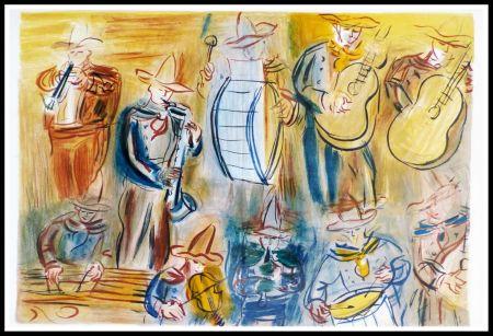 Lithographie Dufy - CONCERT DES ANGES