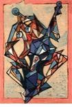 Lithographie Kahn - Concerto