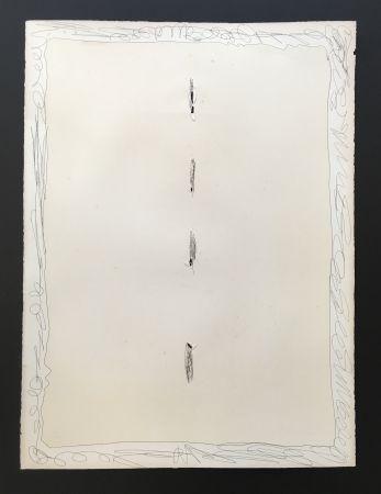 Aquatinte Fontana - Concetto Spziale, 1966
