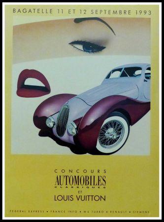 Affiche Razzia - CONCOURS AUTOMOBILES CLASSIQUES