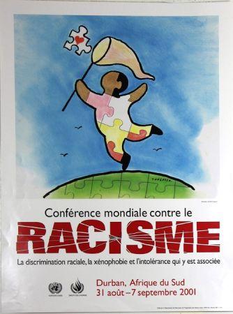 Offset Ungerer - Conference Mondiale Contre le Rascisme 2001