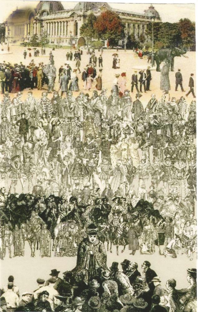 Sérigraphie Blake - Confucius (Paris)