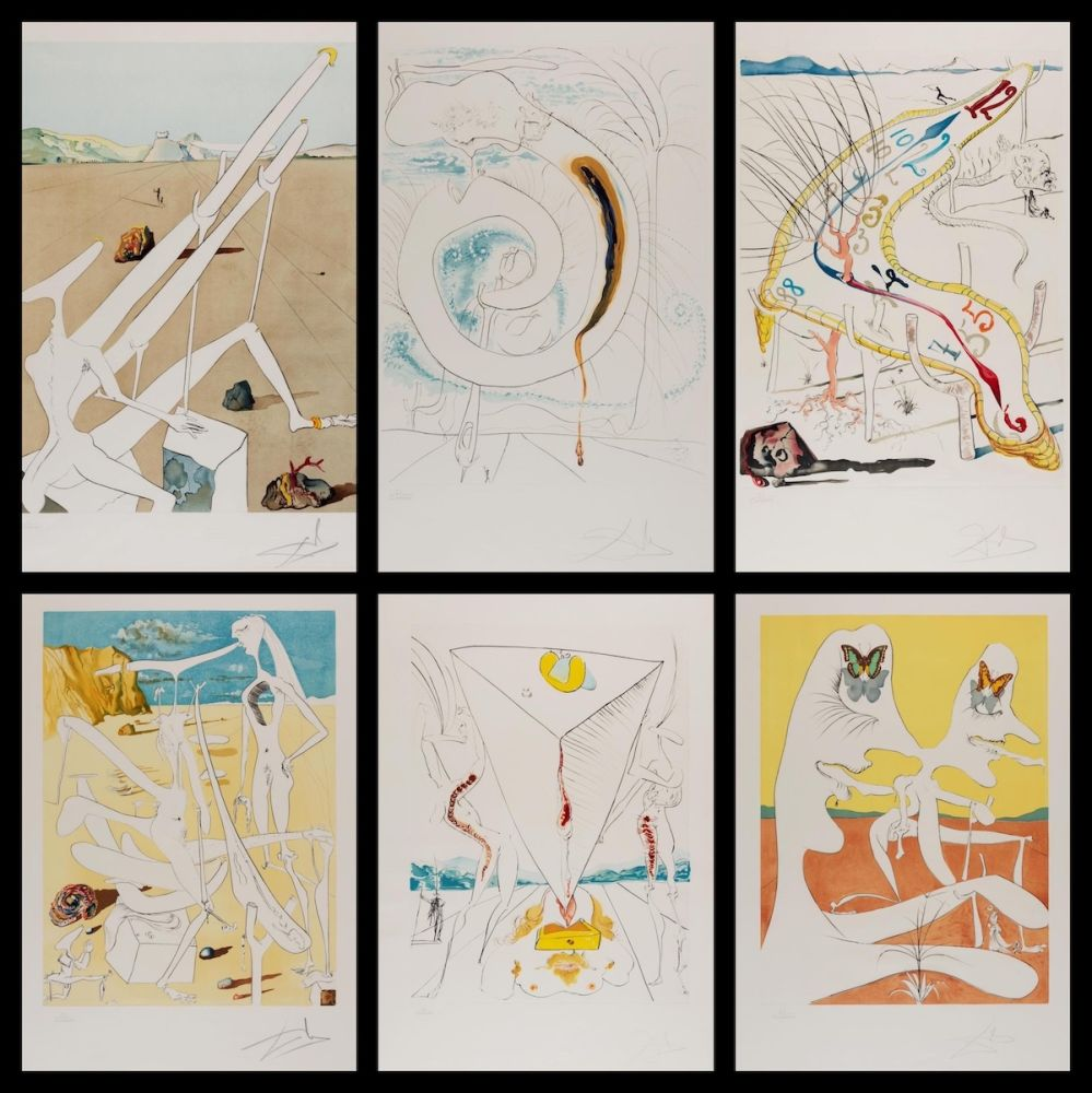 Gravure Dali - Conquest of Cosmos Suite 1