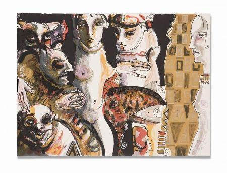Lithographie Barbera - Conspiracion