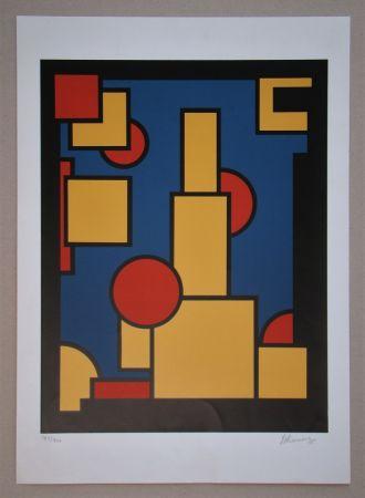 Sérigraphie Koning - Constructieve Compositie