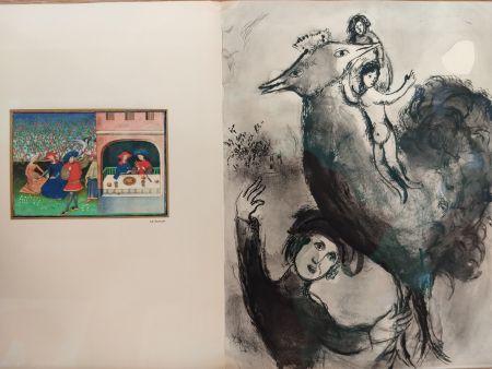 Livre Illustré Chagall - Contes de Boccage