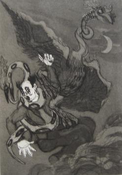 Livre Illustré Villeboeuf  - Contes fantastiques
