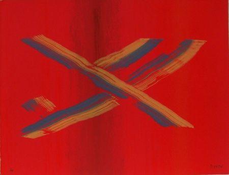 Sérigraphie Broto - Contra rojo