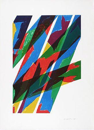 Lithographie Dorazio - Contrario