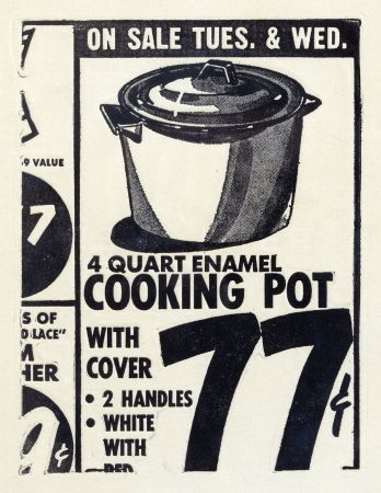 Eau-Forte Warhol - Cooking Pot 1