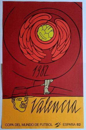 Affiche Adami - Copa del Mundo 1982 - Valencia