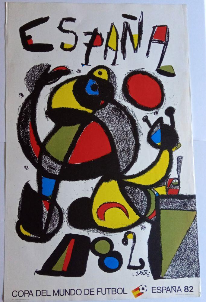 Affiche Miró - Copa del Mundo España 82