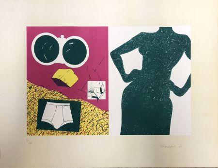 Lithographie Telemaque - Coposition