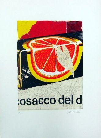 Lithographie Rotella - Cosacco del Don