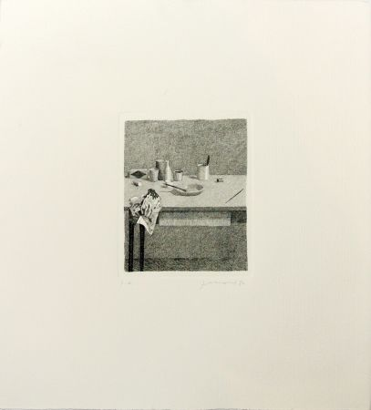 Gravure Ferroni - Cose sul tavolo