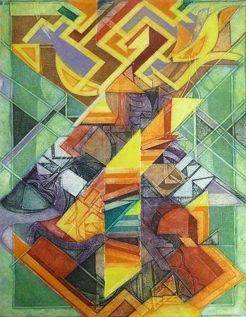 Gravure Fitremann - Cosmogony