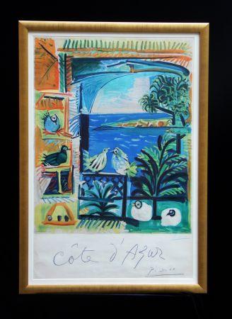 Lithographie Picasso - Cote D'azur